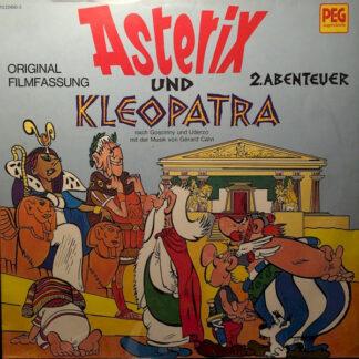 Goscinny* und Uderzo* mit der Musik von Gérard Calvi - Asterix Und Kleopatra (Original Filmfassung) 2. Abenteuer (LP)