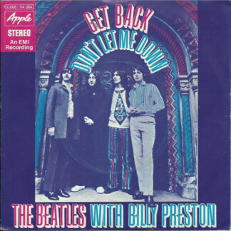 The Beatles With Billy Preston - Get Back / Don't Let Me Down (7