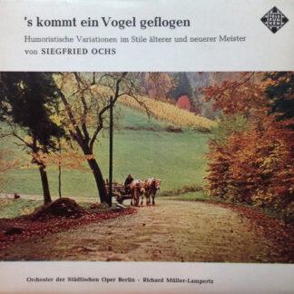 Siegfried Ochs - Orchester Der Städtischen Oper Berlin · Richard Müller-Lampertz - 's Kommt Ein Vogel Geflogen (7
