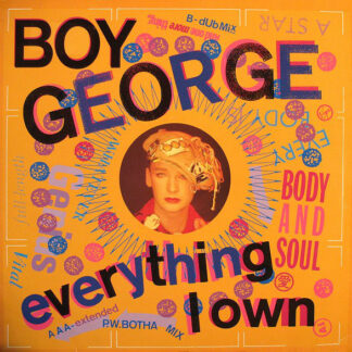 Boy George - Everything I Own (12