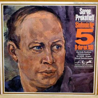 Prokofieff*, Das Große Rundfunk-Sinfonieorchester Der UdSSR*, Gennadi Roshdestwensky* - Sinfonie Nr. 5 B-dur op. 100 (LP, Album)