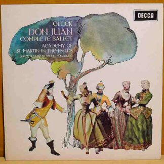 Gluck*, Academy Of St. Martin-in-the-Fields* Directed By Neville Marriner* - Don Juan Complete Ballet (LP)