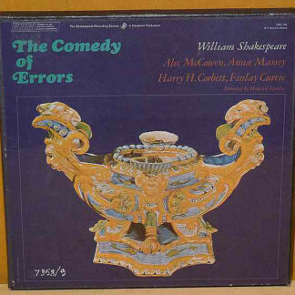Various - Shakespeare, The Comedy Of Errors (2xLP + Box)