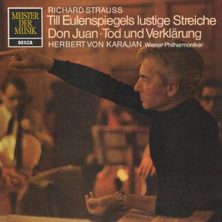 Richard Strauss, Herbert von Karajan, Wiener Philharmoniker - Till Eulenspiegels Lustige Streiche ⋅ Don Juan ⋅ Tod Und Verklärung (LP)