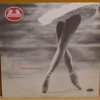 Peter Tschaikowsky*, Utah Symphony Orchestra, Maurice Abravanel* - Schwanensee - Grosse Ballett-Suite (LP, Mono)