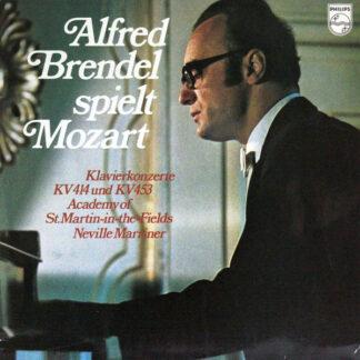 Mozart* - Alfred Brendel • Academy Of St.Martin~in~the~Fields* • Neville Marriner* - Alfred Brendel Spielt Mozart - Klavierkonzerte Kv 414 Und Kv 453 (LP, Album)