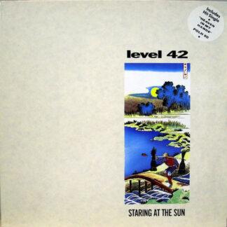 Level 42 - Staring At The Sun (LP, Album)