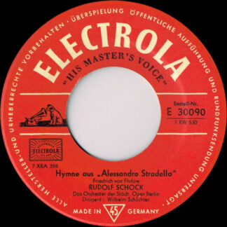 Rudolf Schock, Das Orchester Der Städtischen Oper Berlin* - Hymne Aus