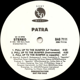 Patra - Pull Up To The Bumper / Whining Skill (12