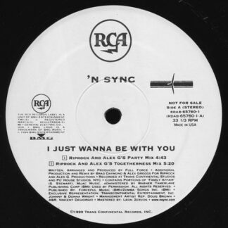 *NSYNC - I Just Wanna Be With You (12