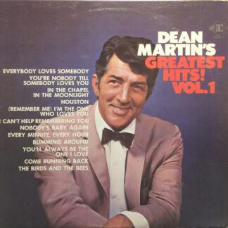 Dean Martin - Dean Martin's Greatest Hits! Vol. 1 (LP, Comp)