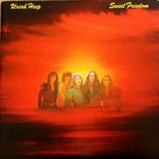 Uriah Heep - Sweet Freedom (LP, Album, Tri)