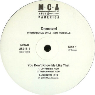 Damozel - You Don't Know Me Like That (12