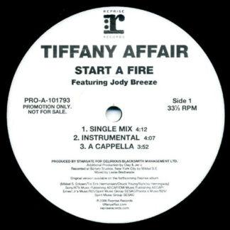 Tiffany Affair Featuring Jody Breeze - Start A Fire (12