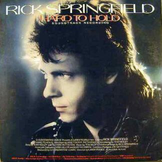 Rick Springfield - Hard To Hold - Soundtrack Recording (LP, Gat)