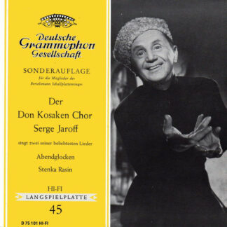 Der Don Kosaken Chor Serge Jaroff* - Abendglocken / Stenka Rasin (7