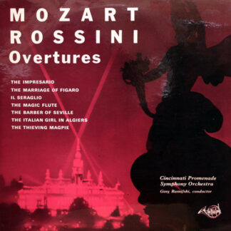 Mozart* And Rossini* - Overtures (LP, Mono)