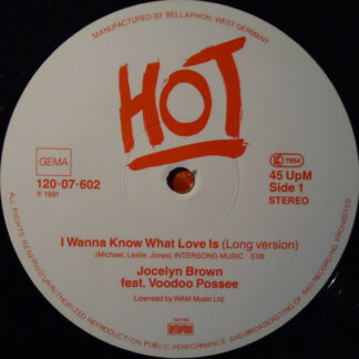 Jocelyn Brown Feat. VooDoo Possee - I Wanna Know What Love Is (12