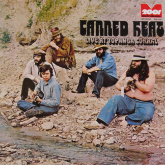 Canned Heat - Live At Topanga Corral (LP, Album, RE)