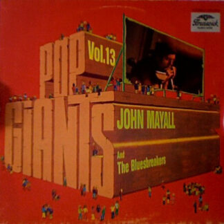 John Mayall & The Bluesbreakers - Pop Giants, Vol. 13 (LP, Comp)