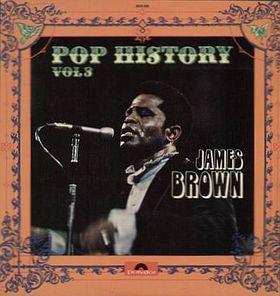 James Brown - Pop History Vol 3 (2xLP, Comp, Gat)