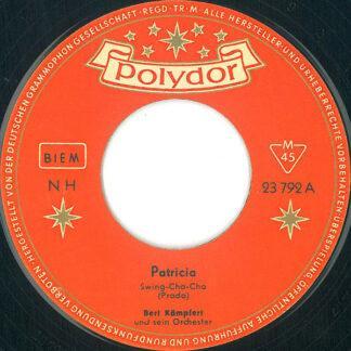Bert Kämpfert Und Sein Orchester* - Patricia (7