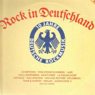 Various - Rock In Deutschland (10 Jahre Deutsche Rockmusik) (2xLP, Comp)