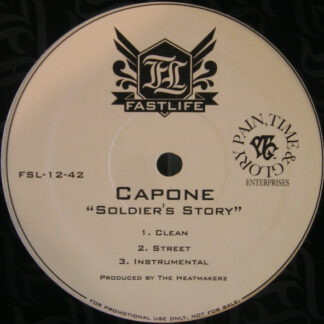 Capone (3) - Soldiers Story / Been A Long Time (12
