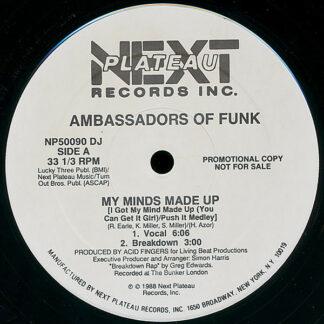 Ambassadors Of Funk - My Minds Made Up (12