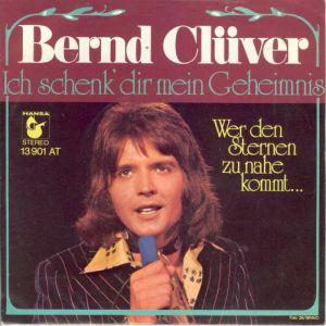 Bernd Clüver - Ich Schenk' Dir Mein Geheimnis  (7