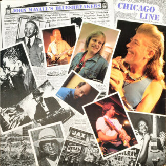 John Mayall's Bluesbreakers* - Chicago Line (LP, Album)