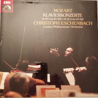 Mozart* - Christoph Eschenbach, London Philharmonic Orchestra* - Klavierkonzerte Nr. 19 F-Dur KV 459 • Nr. 12 A-Dur KV 414 (LP)