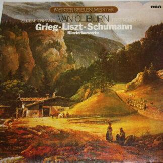 Van Cliburn, Fritz Reiner & Chicago Symphony Orchestra*, Eugene Ormandy & Philadelphia Orchestra* - Grieg - Liszt - Schumann  Klavierkonzerte (2xLP, Comp, Club)