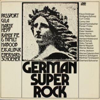 Various - German Super Rock (LP, Comp)