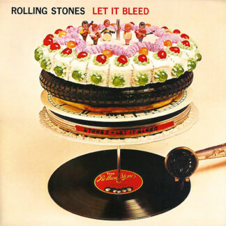 The Rolling Stones - Let It Bleed (LP, Album, RE, RM)
