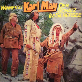 Karl May - Winnetou / Der Schatz Im Silbersee (2xLP, Comp)