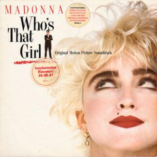 Madonna - Who's That Girl (Original Motion Picture Soundtrack) (LP, Album)