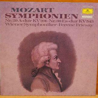 Mozart* - Symphonien Nr.29 A-dur Kv 201 Nr.39 Es-dur Kv 543 (LP, RE)