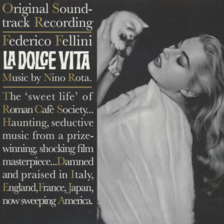 Nino Rota - La Dolce Vita (LP, Album, RE)