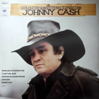 Johnny Cash - Country And Western Superstar (2xLP, Comp, RE, Gat)