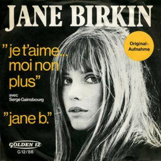 Jane Birkin Avec Serge Gainsbourg - Je T'aime... Moi Non Plus / Jane B. (7