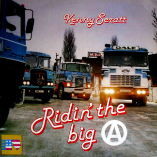 Kenny Seratt - Ridin' The Big 'A' (LP, Album)