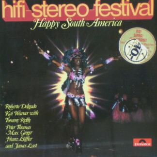 Various - Hifi-Stereo-Festival - Happy South America (LP, Comp, Gat)