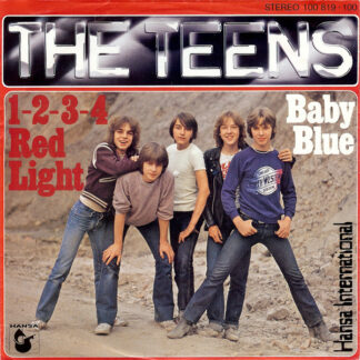 The Teens - 1-2-3-4 Red Light / Baby Blue (7