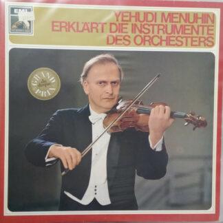 Yehudi Menuhin - Erklärt Die Instrumente Des Orchesters (LP, Album)