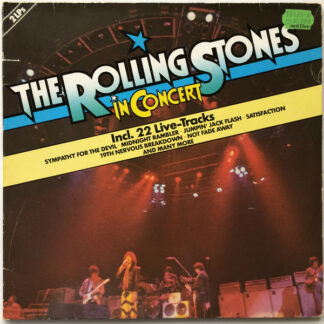 The Rolling Stones - In Concert  (2xLP, Album, Comp)