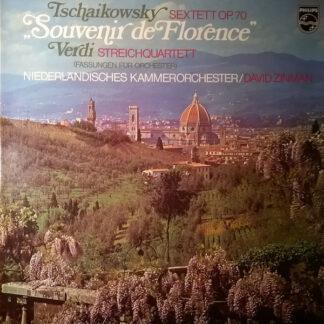 Tschaikowsky*  / Verdi*  - Niederländisches Kammerorchester*, David Zinman - Sextett Op.70 (